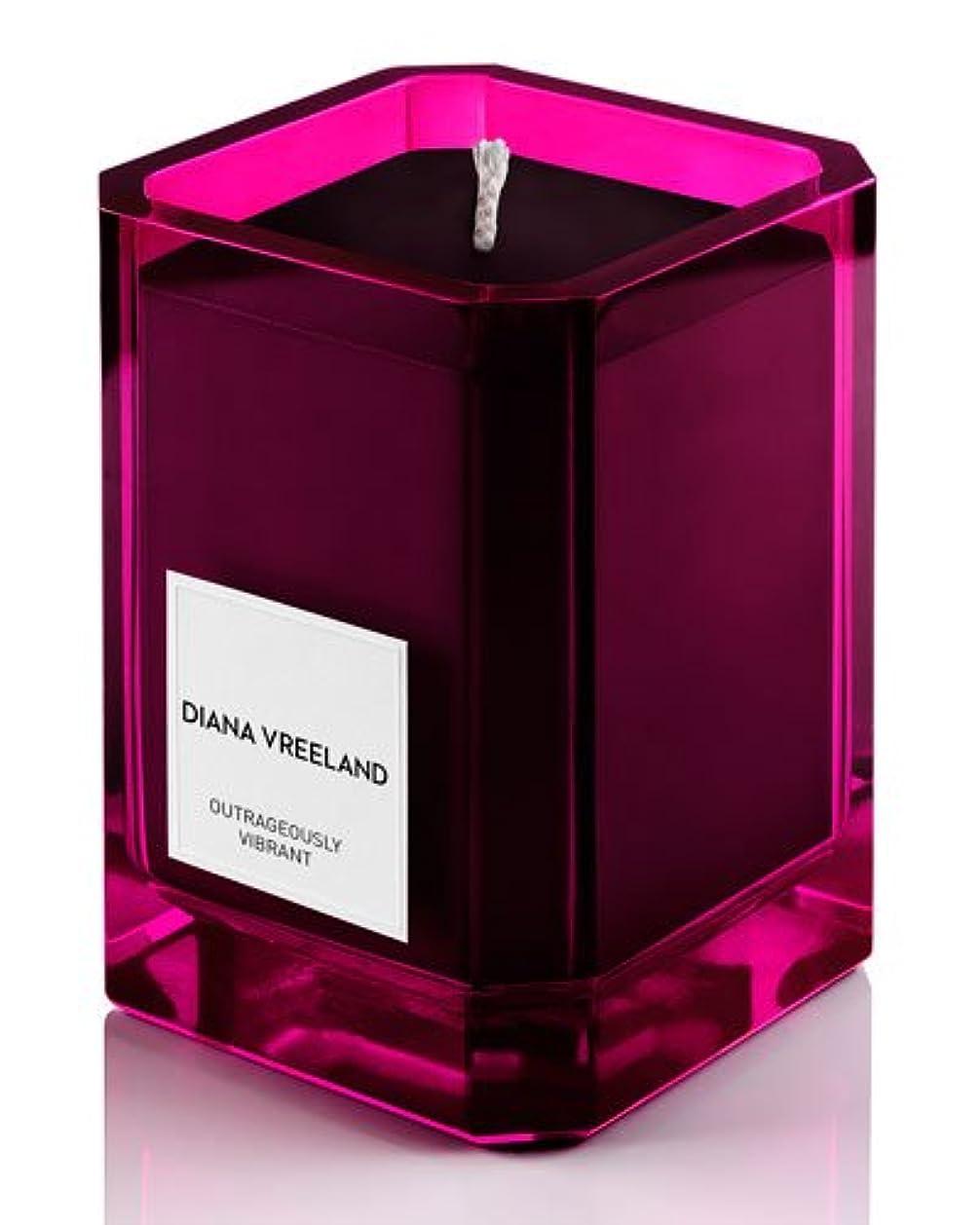 キャップ警告するラフ睡眠Diana Vreeland Outrageously Vibrant(ダイアナ ヴリーランド アウトレイジャスリー ヴィブラント)9.7 oz (291ml) Candle(香り付きキャンドル)