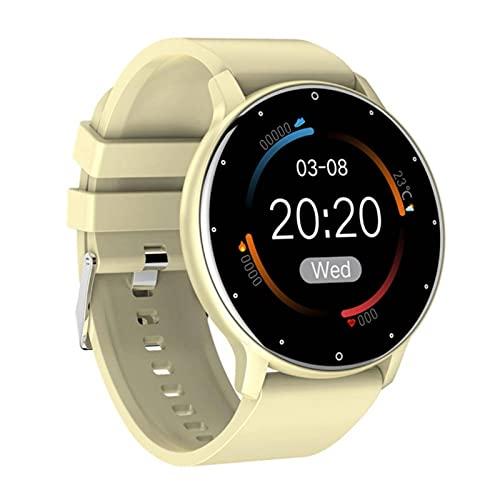 N\C Nuevo Reloj Inteligente para Hombres Y Mujeres Reloj Inteligente Deportivo Reloj Inteligente para Dormir MonitorizacióN del Ritmo CardíAco Reloj Impermeable