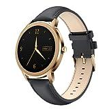CatShin Smartwatch - Orologio Uomo IP68 Impermeabile con Pressione Sanguigna Cardiofrequenzimetro Fitness Tracker Contapassi Smart Watch per Android iOS
