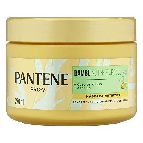 Máscara De Tratamento Pantene Bambu 270Ml, Pantene