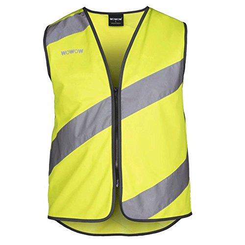 Wowow 2028012200 Unisex Sicherheitsweste, gelb, XL