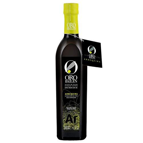 6 Glasflaschen x 500 ml - Premium Olivenöl Oro Bailén Familienreserve - Arbequina von Oliva Oliva Internet SL