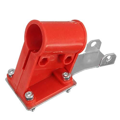 MUCHENG ZI Cortador de cepillo de largo alcance para desbrozadora de seguridad, asiento de fijación y abrazadera de seguridad herramientas eléctricas
