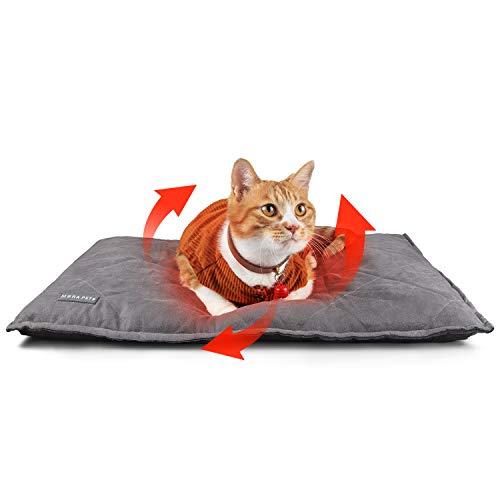 Manta Autocalentable para Gatos y Perros, 89x58 cm Manta Té