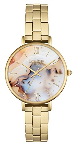 Lola Rose-Orologio da donna al quarzo con Display analogico, colore: oro,...