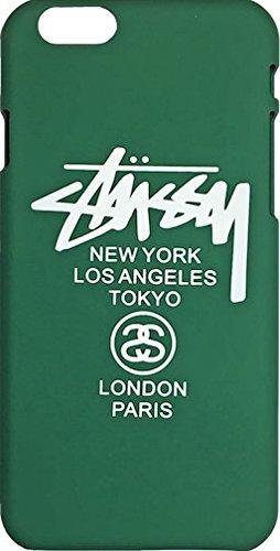TN Cases Store–Carcasa iphone 66S Stussy Supreme verde y blanco plástico rígida
