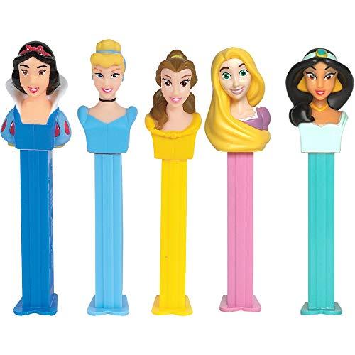 Princess Pez-dispenser met navullingen (afzonderlijk verkocht, één willekeurig karakter meegeleverd)