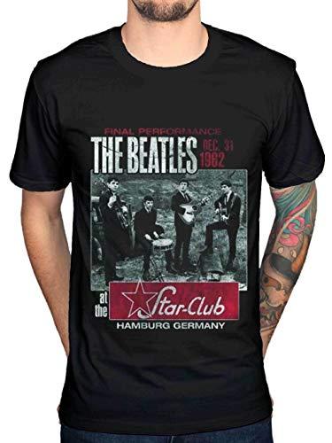 Hikon The Beatles Final Performance Hamburg Graphic T-Shirt Lennon McCartney