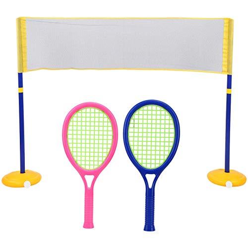 Juguete ligero para jugar a bádminton ZG270-60 Accesorios de funcionamiento convenientes Juguete de voleibol para niños(ZG270-60)