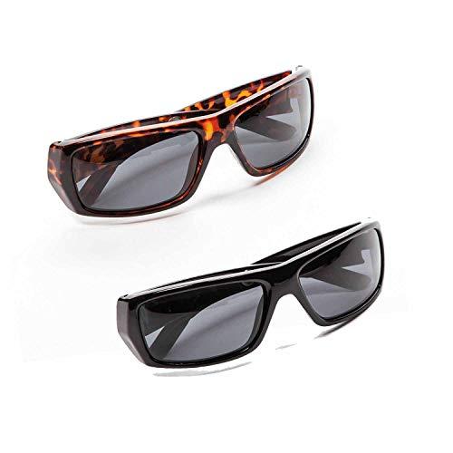 VR7 Herren Fahren Sonnenbrille Polarisierte Gläser Pack 2 Sports Brillen Fischen Golf Brille