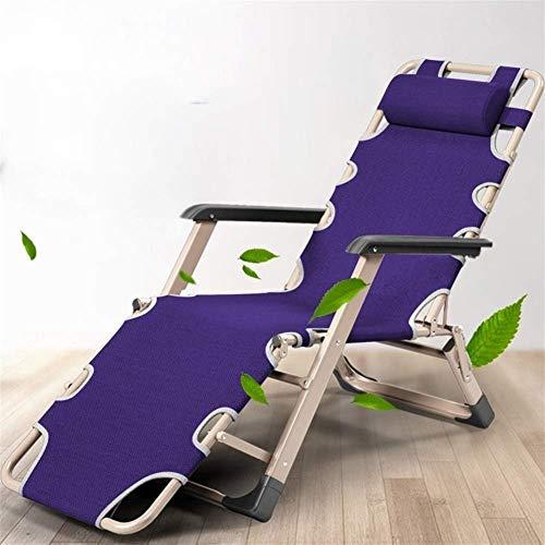 Tumbonas de jardín y reclinables Plegable Sol inclinación de la silla de la tumbona con la hamaca con una almohada original Reclinable para la piscina de la playa Patio al aire libre Jardín de jardín