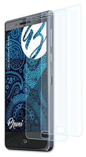 Bruni Schutzfolie kompatibel mit BlackBerry Motion Folie, glasklare Bildschirmschutzfolie (2X)