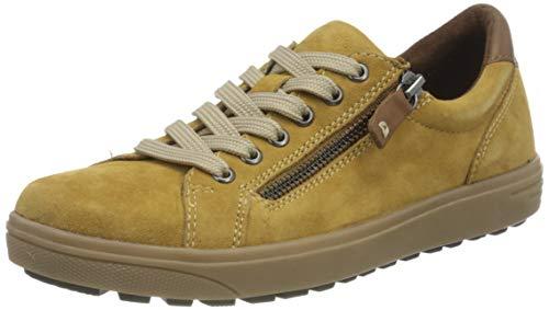 Jana 100% comfort Damen 8-8-23611-25 Sneaker, Saffron, 44 EU