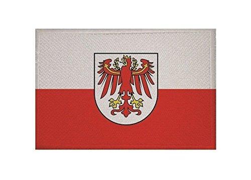 U24 Aufnäher Südtirol Fahne Flagge Aufbügler Patch 9 x 6 cm