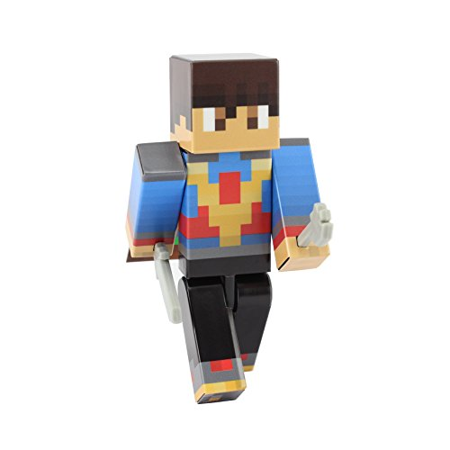 EnderToys Voyager Boy Action Figure Toy, 4 Inch Custom Series Figurines