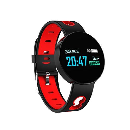 WuMei101 - Reloj inteligente de seguimiento de actividad con oxígeno en sangre, presión arterial, monitor de frecuencia cardíaca, IP67 resistente al agua para hombres y mujeres de Android y iOS