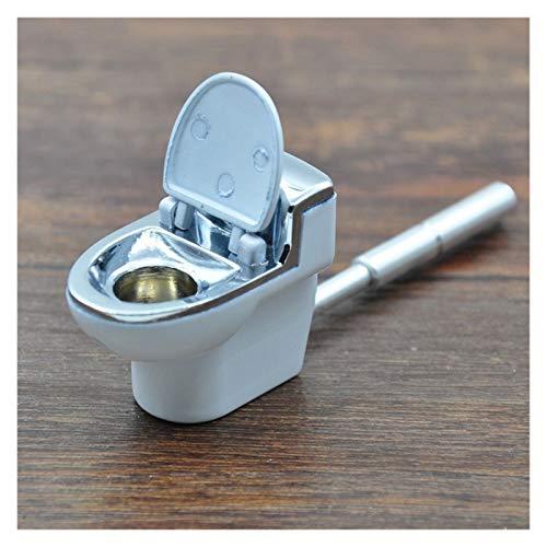 CUzzhtzy Mini-WC Modell Metallrohr, Geschenk Mahlrohrs Grinder Rohr Rohr Zubehör