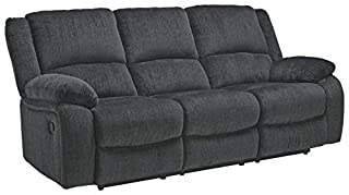 Signature Design by Ashley - Draycoll Contemporary Upholstered Reclining Sofa - Pull Tab Reclining - Dark Gray (B08CY8CTGP) | Amazon price tracker / tracking, Amazon price history charts, Amazon price watches, Amazon price drop alerts