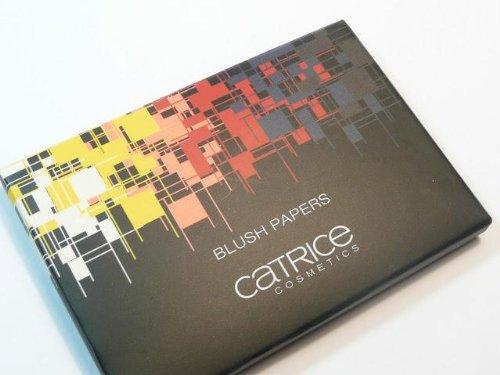 Catrice Cosmetics Limited Edition Geometrix Blush Paper Rougepapier Nr. C01 Red Farbe: Pastell Rosa Inhalt: 50 Blätter Rouge Blättchen für einen perfekten und natürlichen Glow. Ideal für die Handtasche.