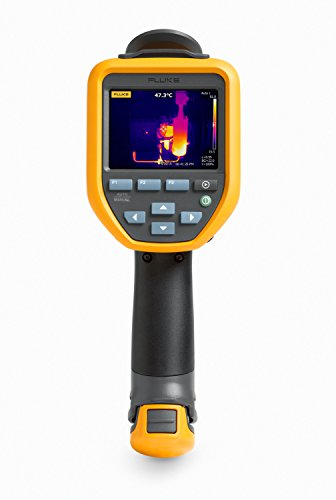 """Price comparison product image Fluke TIS65 30HZ Thermal Infrared Camera with IR-Fusion,  Video Recording,  Picture-in-Picture,  Voice Annotations,  Color Alarms,  3.5"""" LCD,  Manual Focus"""