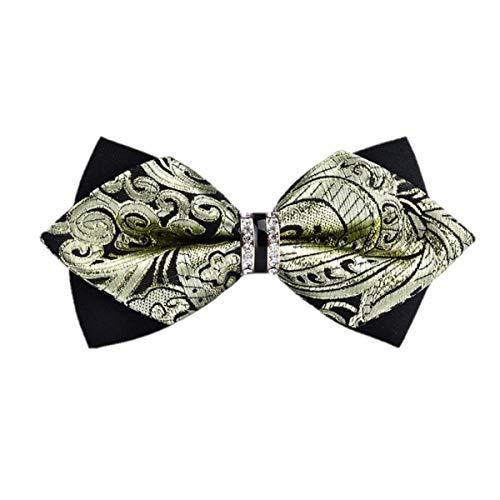 Elemental Goods Premium boog stropdas - luxe boog stropdas - afmeting 12 cm x 6 cm - vlinderdas - kostuum - bruiloft - party - winkels - duurzaam luxueus - man - cadeau