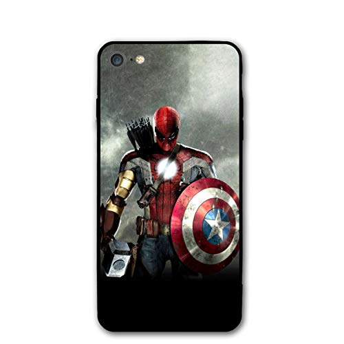 iPhone 7 Case iPhone 8 iPhone SE 2nd 2020 Case 4.7', Comics iPhone Case Plastic Full Body Protection Cover for iPhone 7/8, iPhone SE 2nd 2020 (Avengers-Mix)