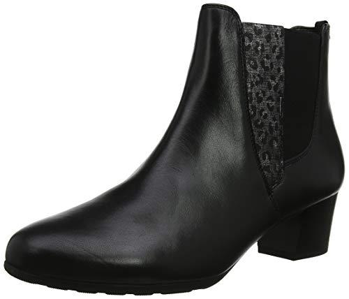 Gabor Shoes Damen Comfort Sport Stiefeletten, Schwarz (Schwarz (Micro) 67), 39 EU