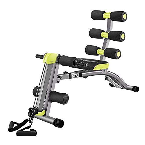 UIZSDIUZ 12 en 1 Equipo de la Aptitud, Abdominal Twister Trainer Altura Ajustable de inclinación del Entrenamiento del Equipo AB ejercitador, 360 ° Torsión