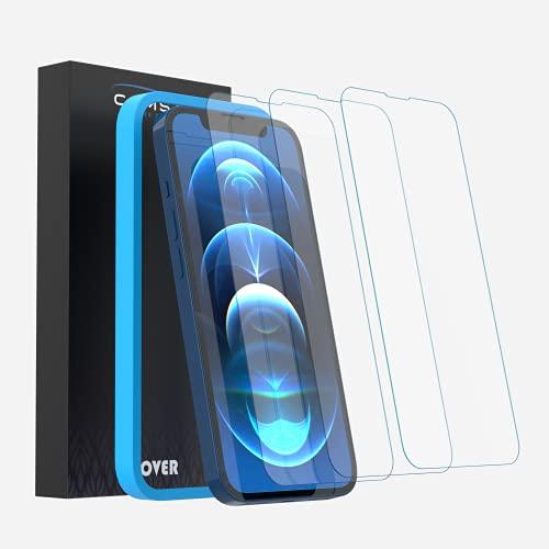 Camste Vetro Temperato Compatibile con Iphone 13 Iphone 13 Pro con Kit di Installazione - Pellicola Protettiva Oleofobica, Non Lascia Bolle, Durezza 9H