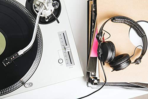 Sennheiser HD 25Black supraaural Headphone-Headphones (supraaural, Wired, 16-220000Hz, 120dB, 1.5m, black)