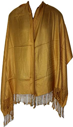 Large Extra Soft Silky Pashmina Shawl Wrap Shawl Stole For Women Winter Solid Color Large Scarf Pashmina Yoga Classic 3986