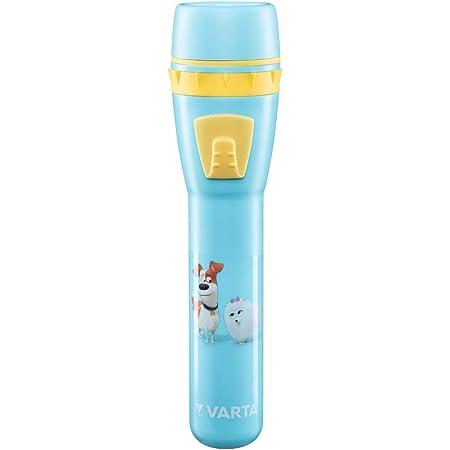 Varta Pets Nachtlicht Max Für Kinder Inkl 3xaaa Longlife Power Batterien Taschenlampe Orientierungslicht Stimmungslicht Für Schlafzimmer Mit Touch Sensor Und An Und Ausschalt Funktion Beleuchtung