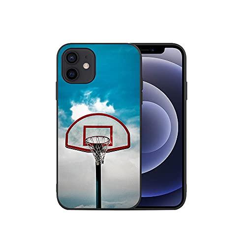 JINGJINGJIAYOU Funda Suave de Silicona para teléfono móvil para iPhone, Protector de Baloncesto para iPhone 12 Mini 11 Pro X XS MAX XR 8 7 6 6S Plus Case-baloncesto3_iPhone7plus / 8plus