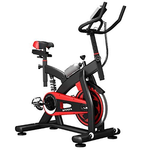 Hometrainer, Indoor Fitness Cycling Bike, Stationair met LCD-scherm, aanpassen Comfortabele zitting en stuur, voor Huis Cardio Workout