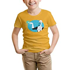 Ingredient: 100% cotton. Cleaning method:recommended for hand washing. The Incredibles T-shirt.Cool graphic design,Soft fabric,Fun and colorful,Made with high quality materials.Screen-print art and twill patch details. Shirts feature pullover crew ne...