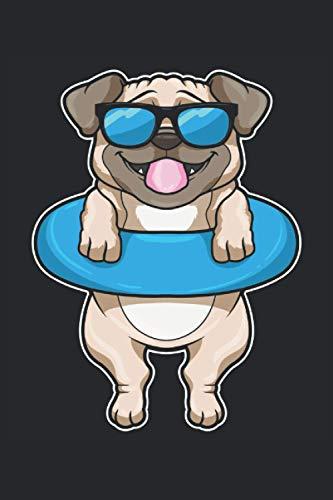 Schwimmen Notizbuch, 120 Seiten: Hund - Geschenke - Schwimmen Notizbuch - Tagebuch für Frauen, Männer und Kinder - Punktraster