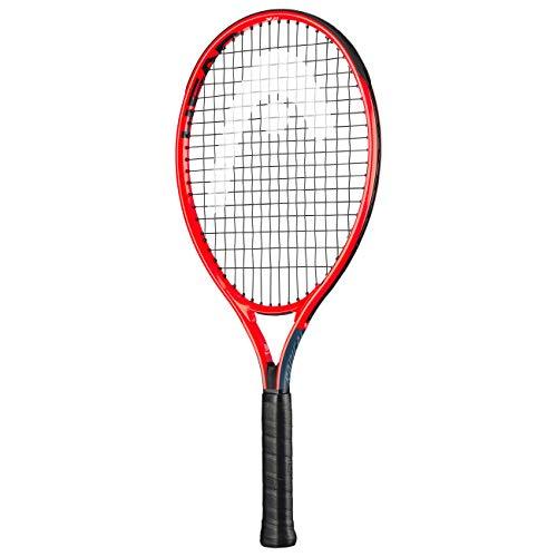 Head Unisex-Jugend-Tennisschläger, Mehrfarbig (Grau/Rot),21 Zoll