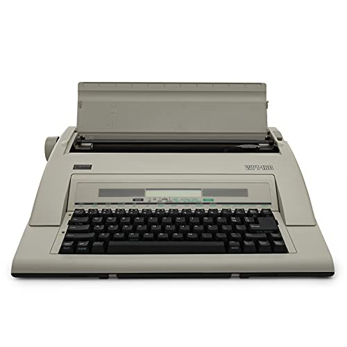 Nakajima WPT-160 Electronic Portable Typewriter with Display and Memory