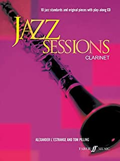 [Jazz Sessions Clarinet-Music Book with Cd] [Alexander L'Estrange] [August, 2005]