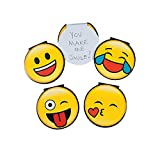 Fun Express - Emoji Notepad - Stationery - Notepads - Notepads - 24 Pieces
