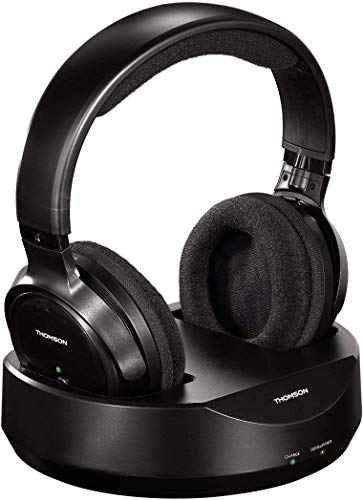 Thomson Casque sans fil TV 'WHP3001BK' (Over-Ear, avec...