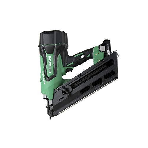 """Hitachi NR1890DC 18V Cordless Brushless 3-1/2"""" Paper Strip Framing Nailer (Discontinued by the Manufacturer)"""