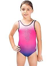Diamonds Sparkle Gymnastics Leotard Ballet Dance Ropa de Gimnasia y Baile de una Pieza de Activewear Leo en el Cambio Gradual de Las niñas Color
