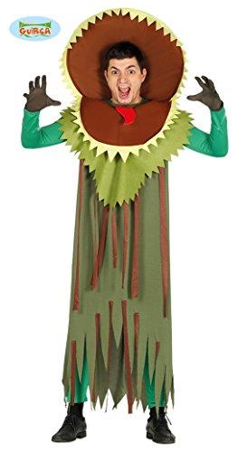 Fleischfressende Pflanze Kostüm für Erwachsene Damen Herren Gr. M/L, Größe:L