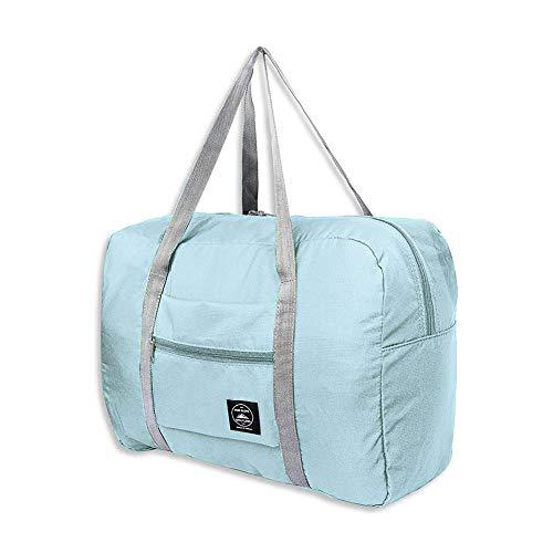 LINKLANK Bolsa de viaje plegable, para equipaje, gimnasio, deportes, ligero, plegable, bolsa...