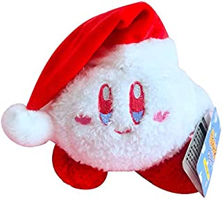 Beatrbior Kirby Stuffed Plush Limited Christmas Kirby Snowball Adventure El sueño de Kirby (Christmas Kirby-2)