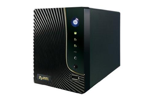 ZyXEL NSA320 DLNA Media- und Syslog Server für 2 Festplatten (Raid 0/1/JBOD)