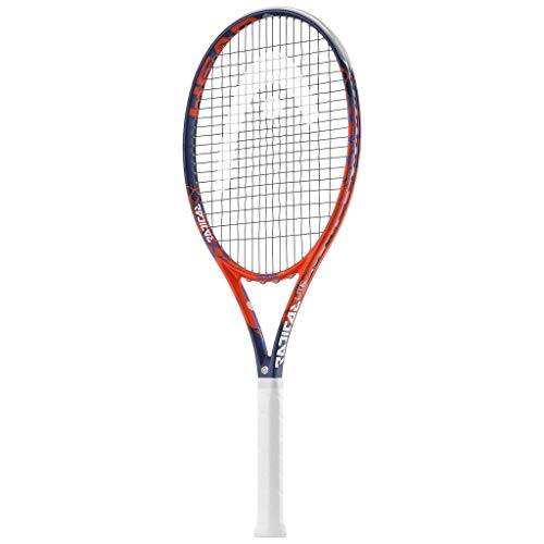 HEAD Graphene Touch Radical MP Lite - Raqueta tenis (precordada) L2 (4 1/4) Rojo L2 (4 1/4)