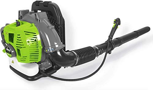 VITO Professional rückentragbar Benzin Laubbläser 52 CC Laubgebläse Blasgeschwindigkeit 90 m/s - 0.24 m³/s, 2 PS bei 6.500 U/min