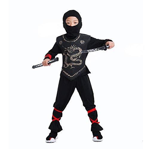 Disfraces De Ninja para Nios Fiesta De Halloween Nios Nias Guerrero Asesino Disfraz Nios Cosplay Da De Los Nios S